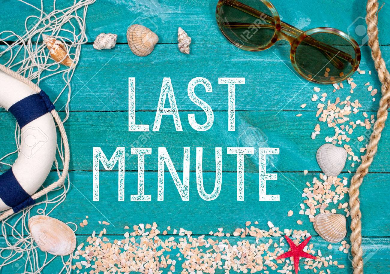 Last Minute Holidays Stock Photo - 42676191