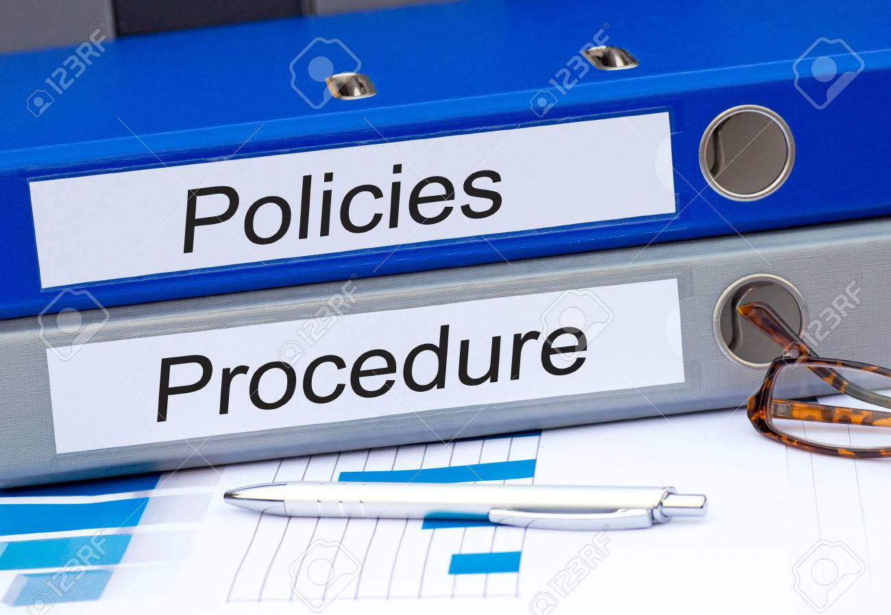 Policies and Procedure Stock Photo - 42676278