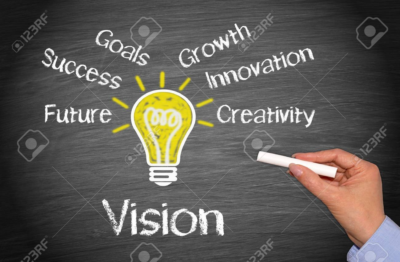 Vision - Business Concept Stock Photo - 43929518