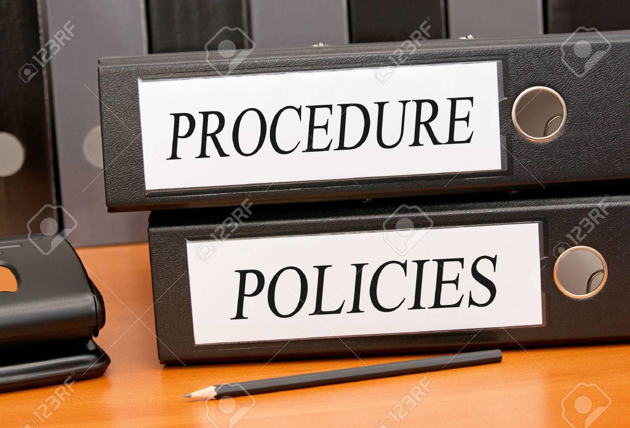 Procedure and Policies Stock Photo - 43953625
