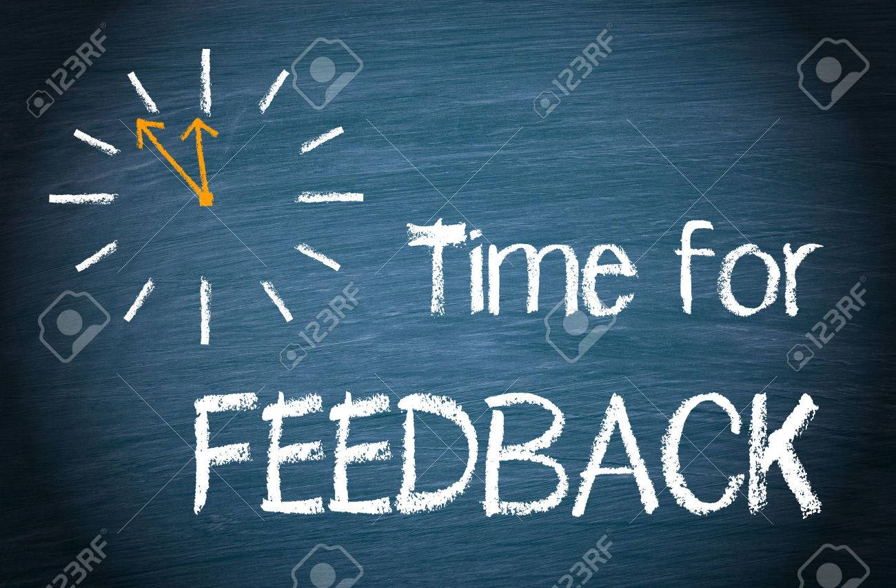 Time for Feedback Stock Photo - 47380672