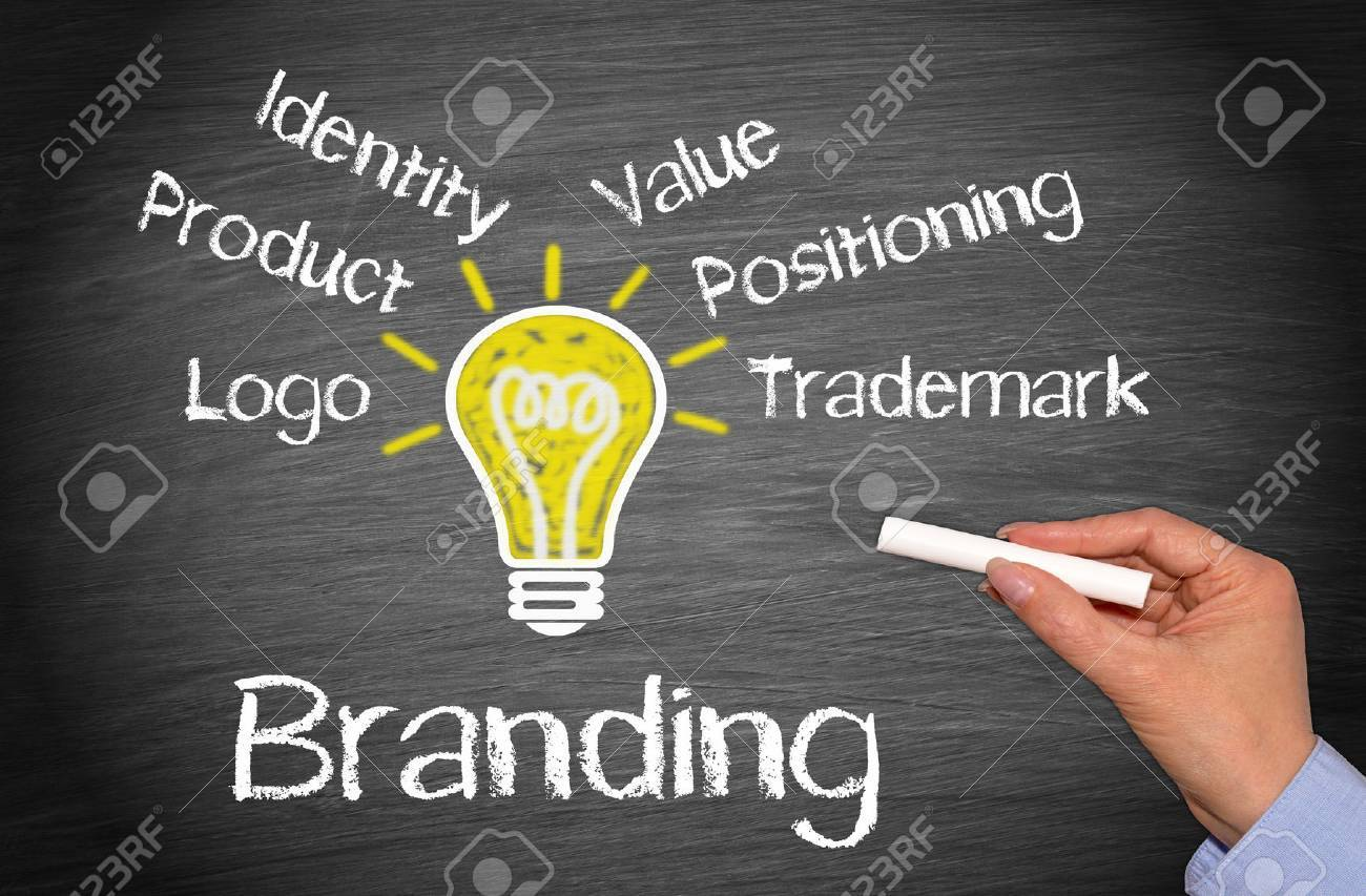 Branding and Marketing Business Concept - 48694792