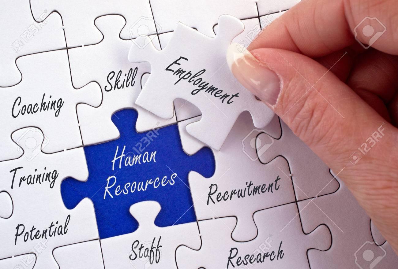 Human Resources - Recruitment and Development Stock Photo - 48950191