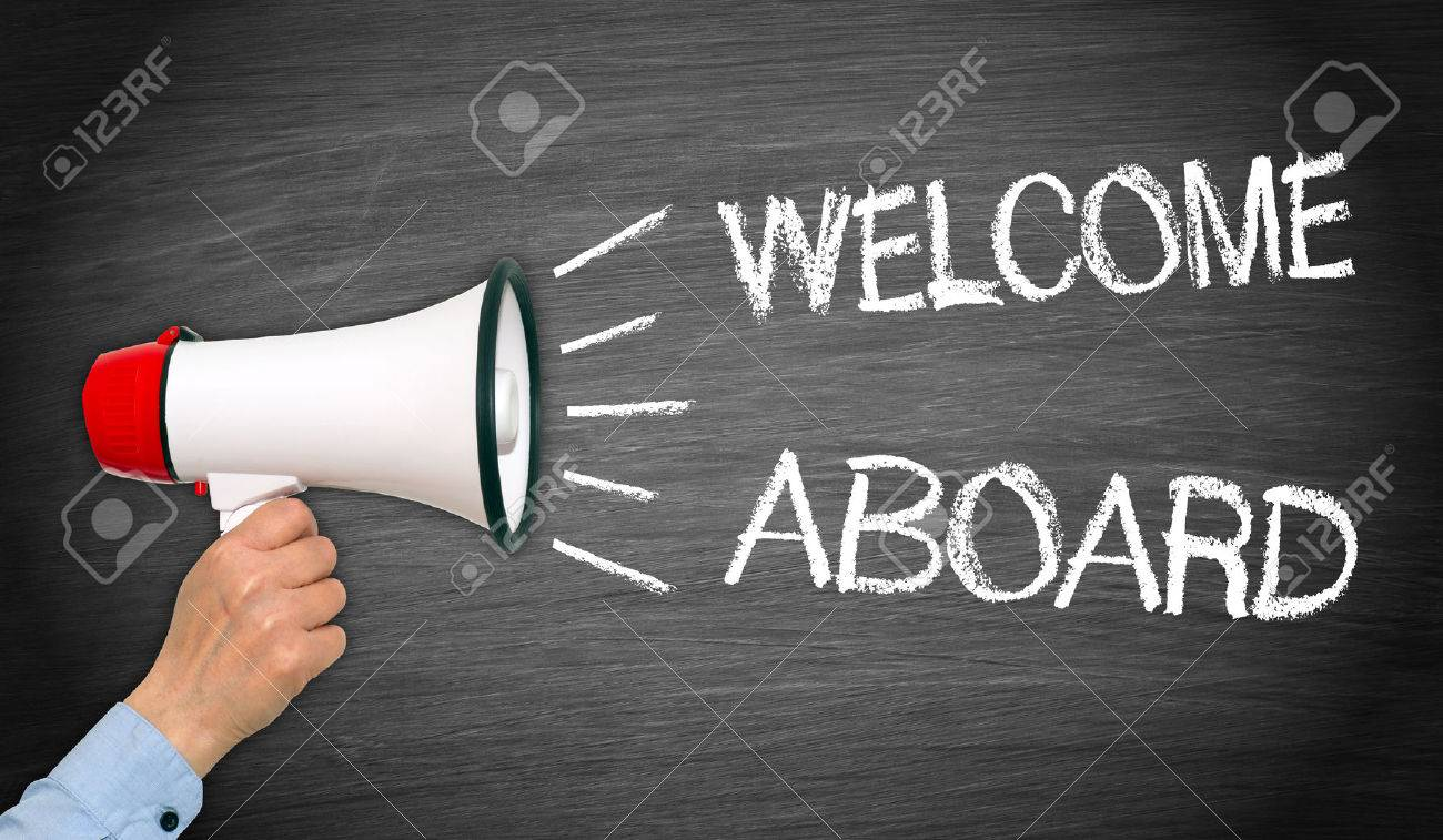 Welcome Aboard Stock Photo Picture And Royalty Free Image Image