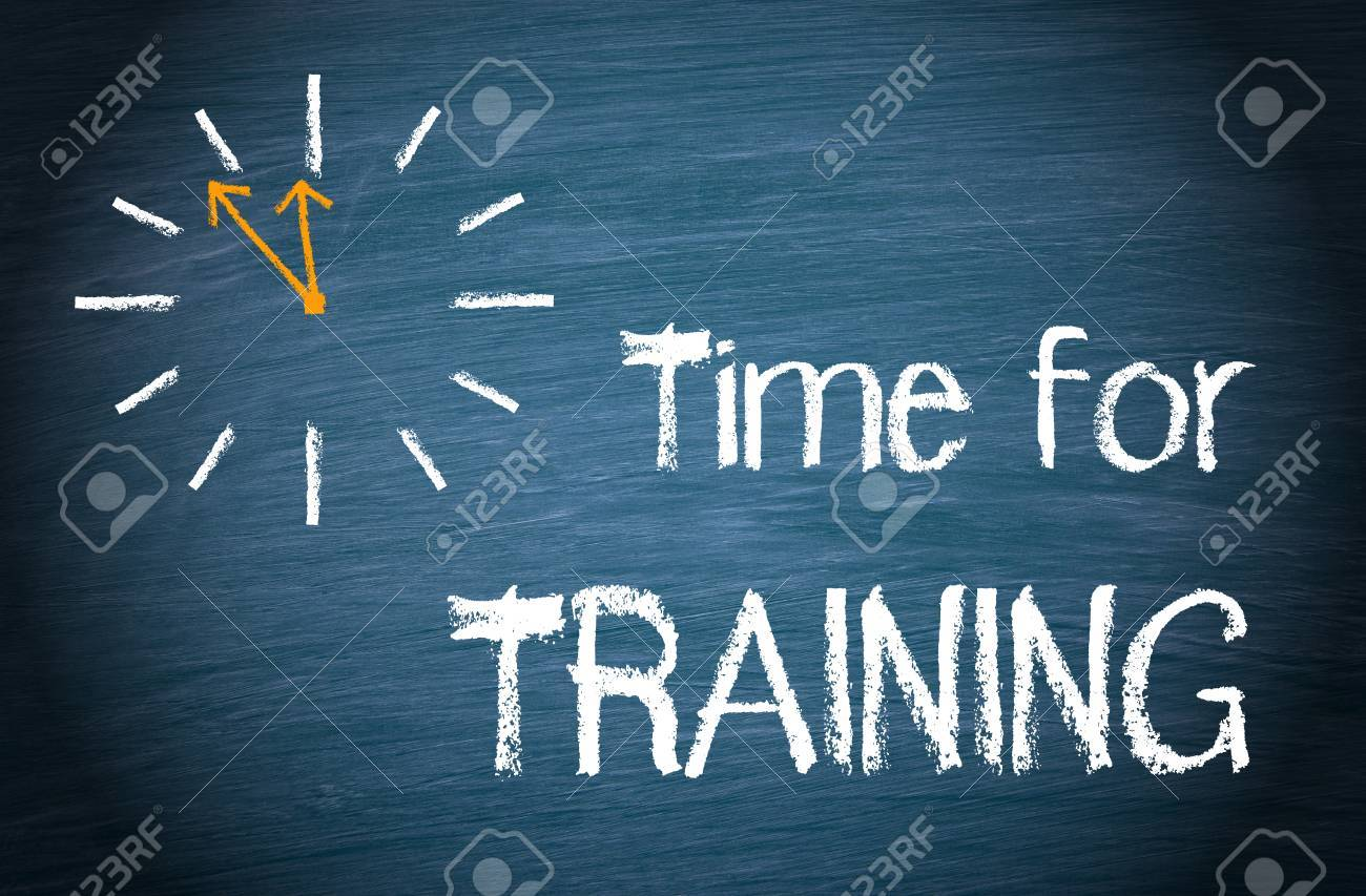 Time for Training - 48980018