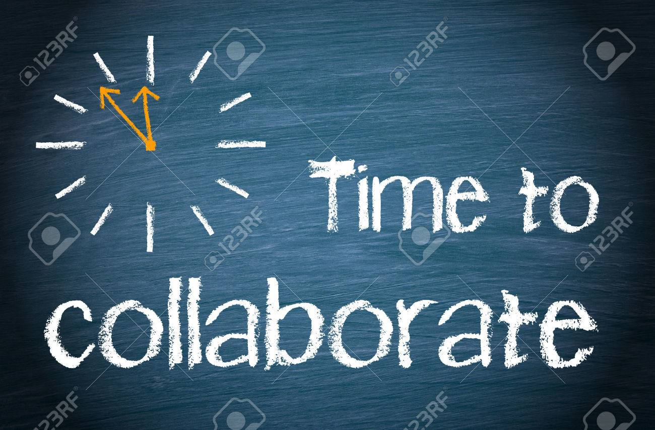 Time to collaborate - 49244119