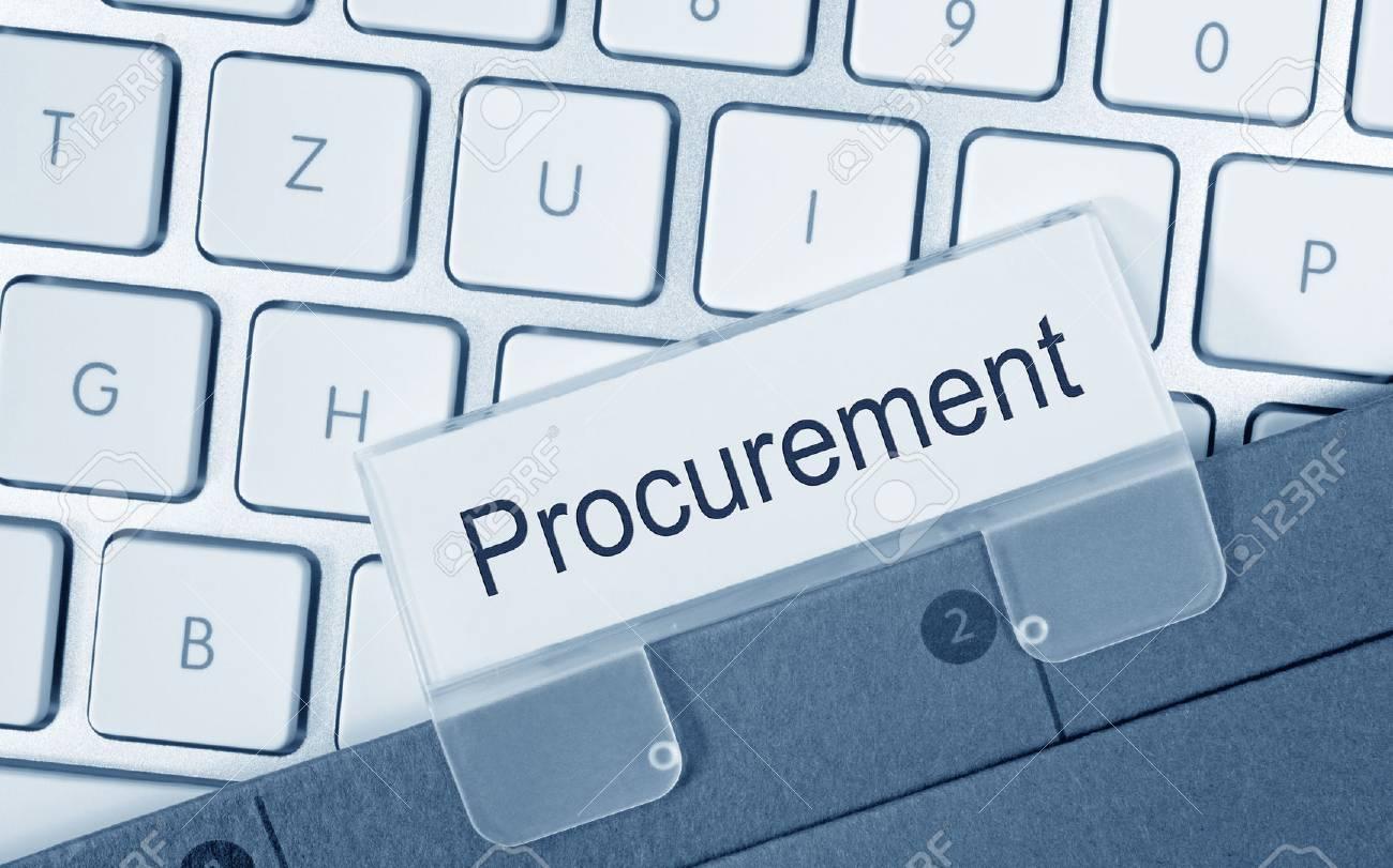 Procurement folder in the office - 50027346