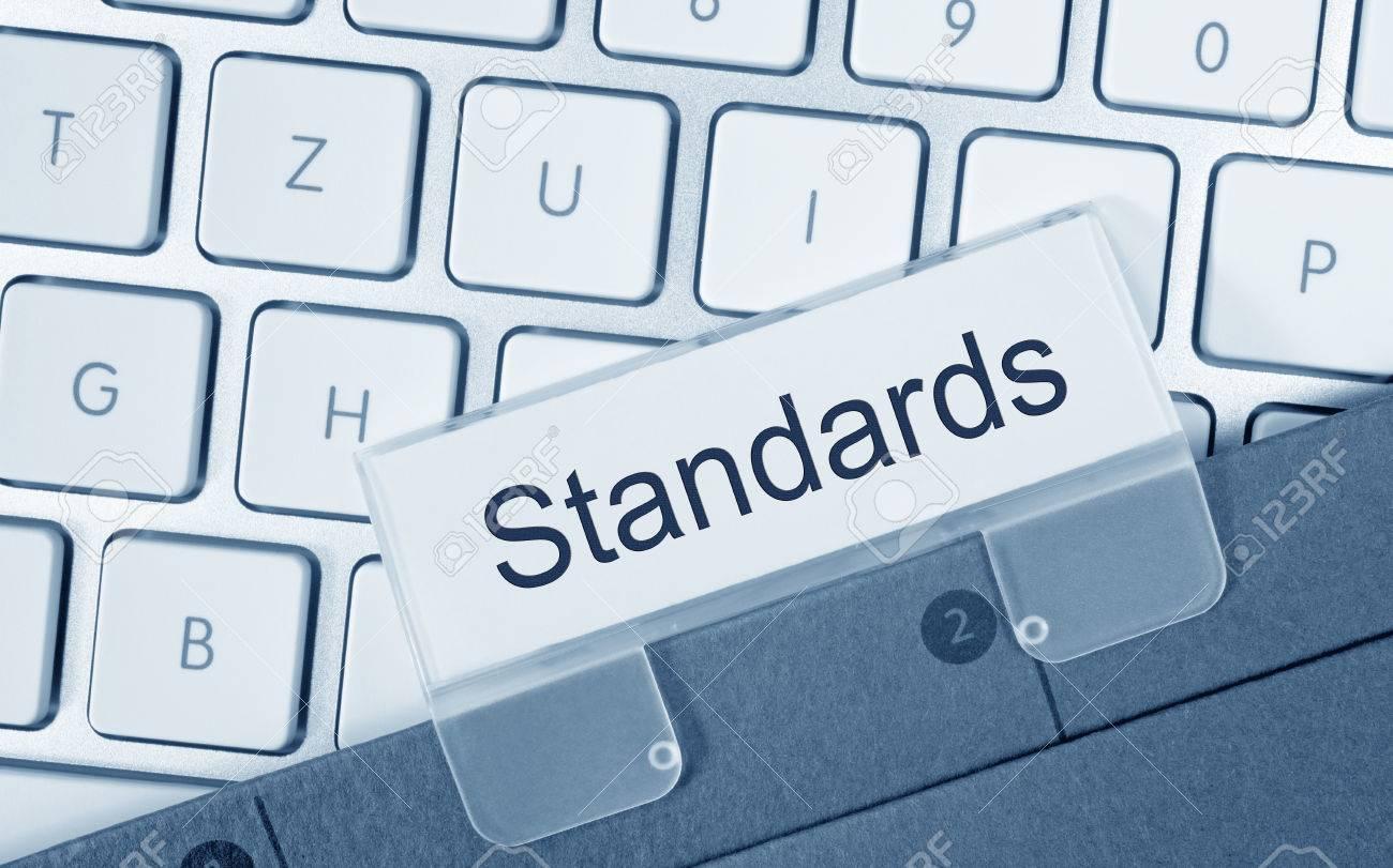 Standards Folder on Computer Keyboard - 50027390