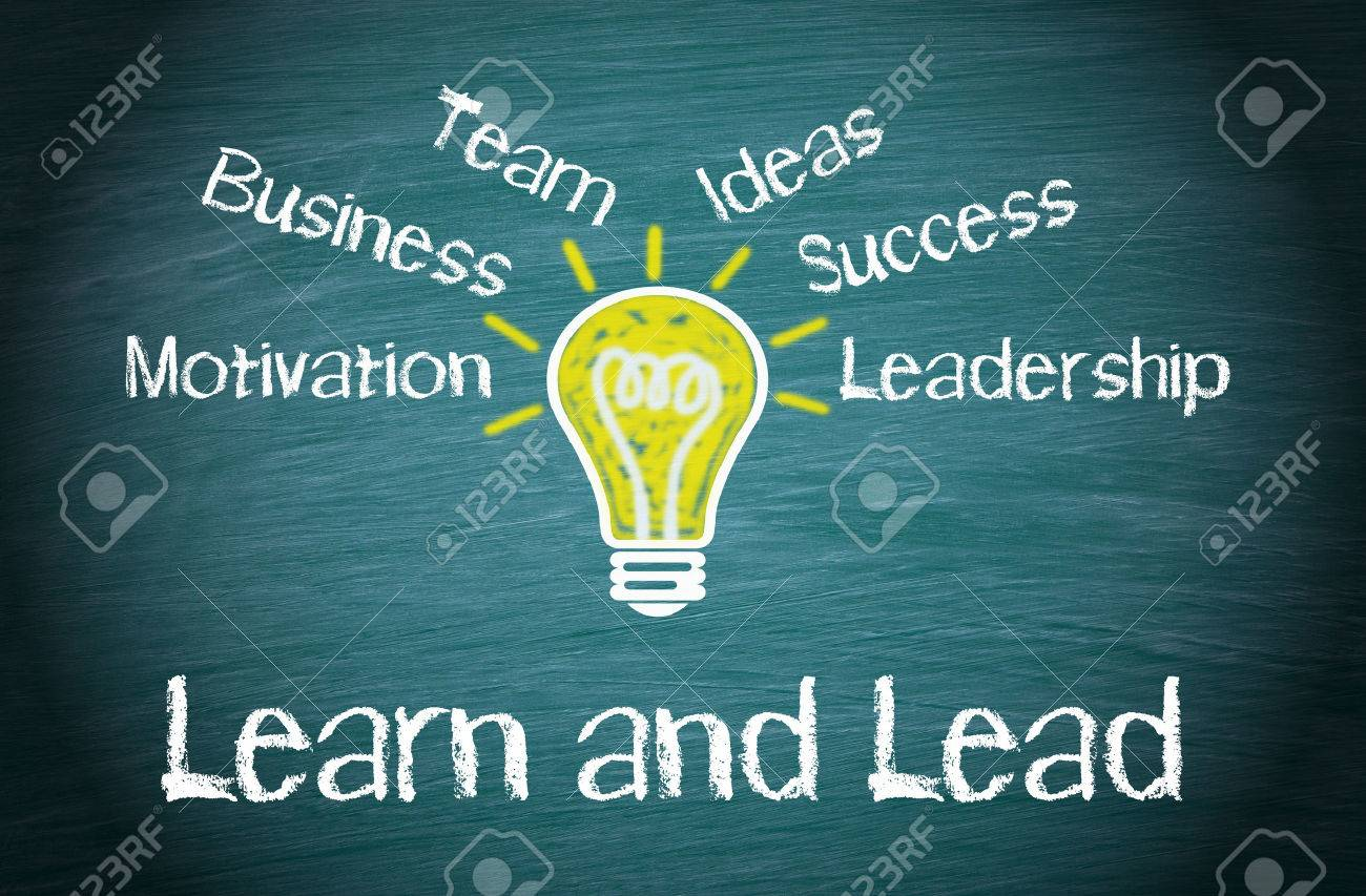 Learn and Lead Business Concept Stock Photo - 50027334
