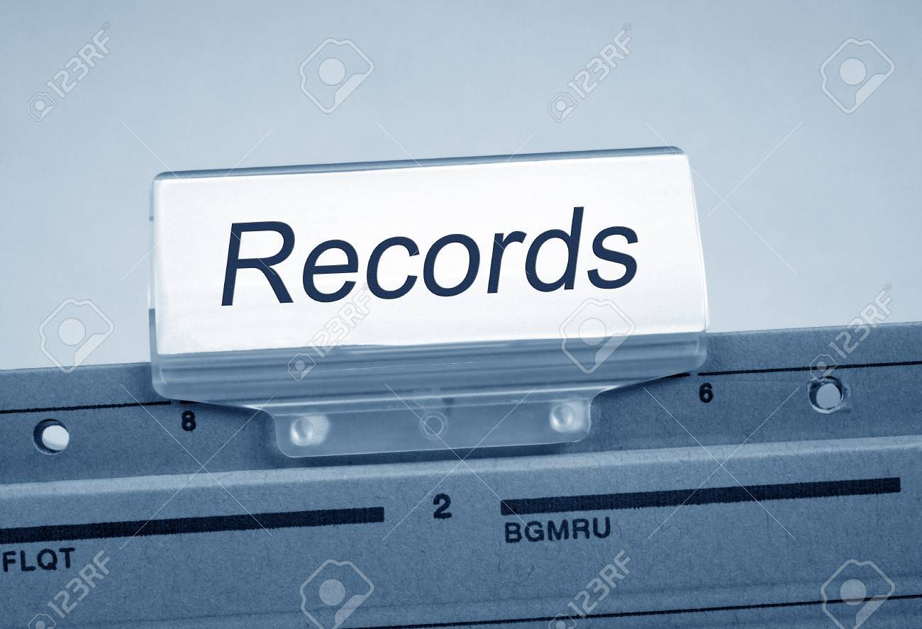 Records Register Folder Index