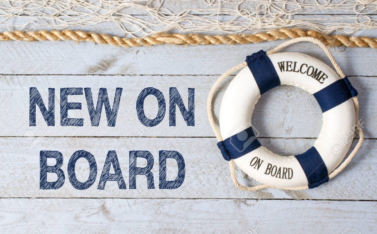 New on Board - Welcome - 50027316