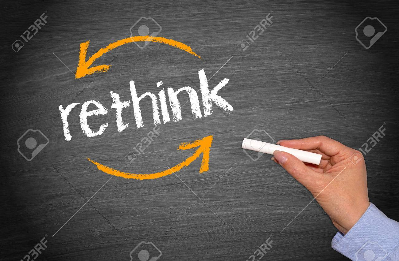 Rethink Business Concept - 69592291