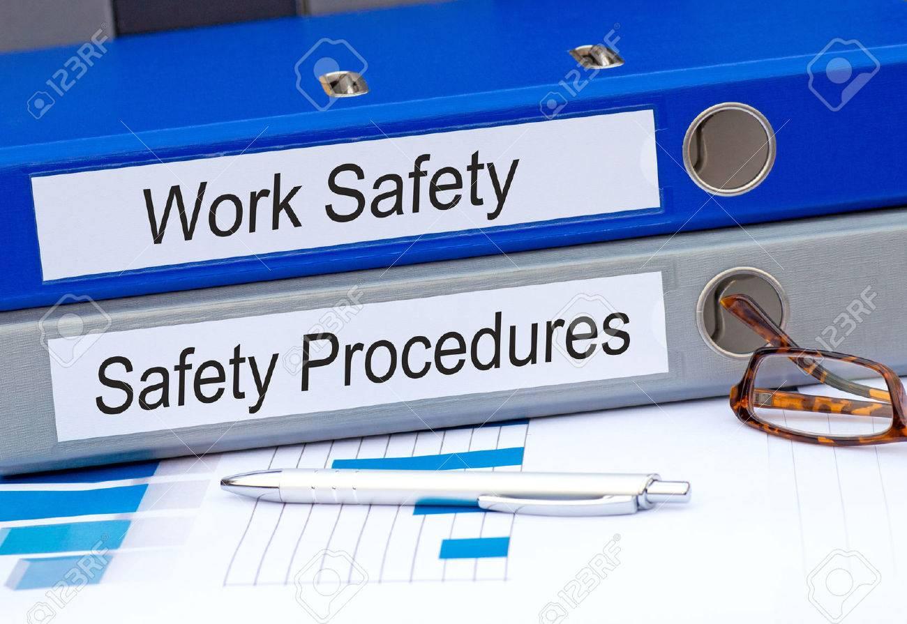 Work Safety and Safety Procedures Binder - 69600039
