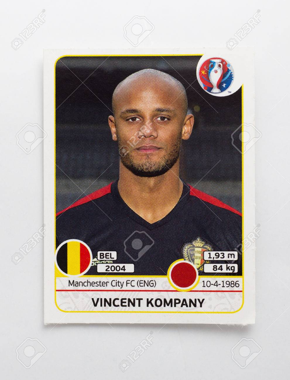 PANINI EURO CUP STICKERS 2004 1 PACK