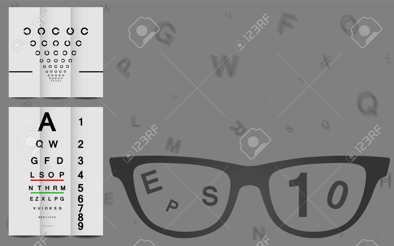 Eye Chart Stock Vector - 18867071