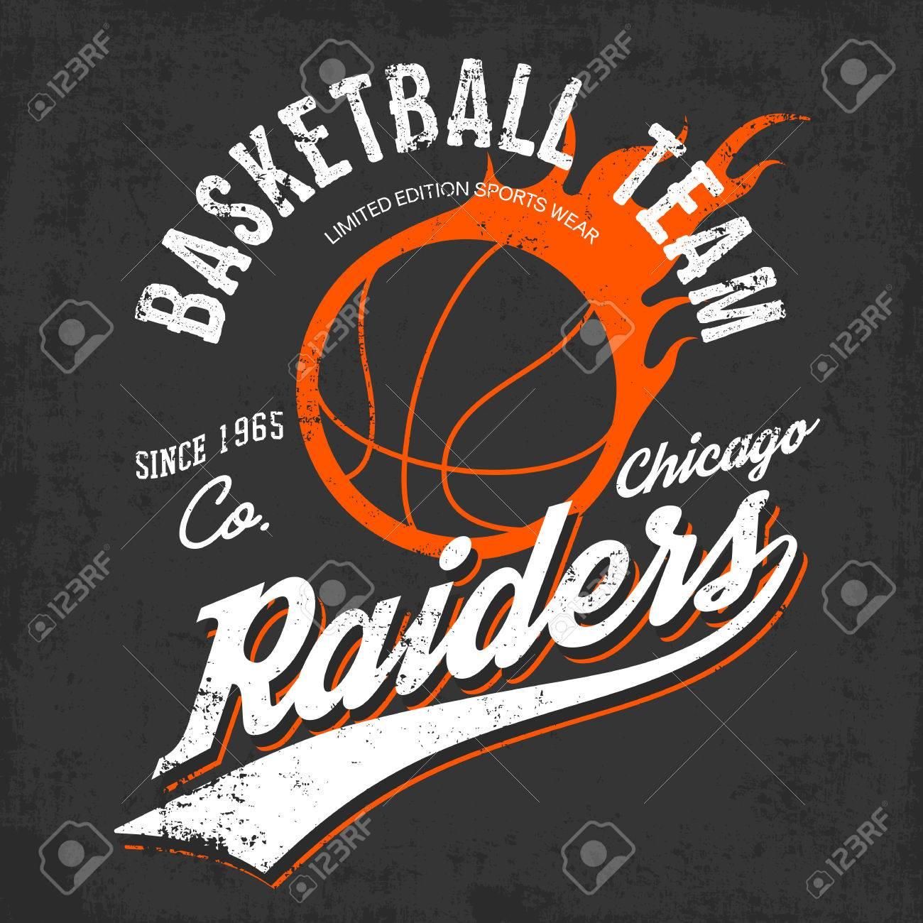 Raiders basketball team logo or sign of burning orange ball and raiders basketball team logo or sign of burning orange ball and text raiders below on gray buycottarizona