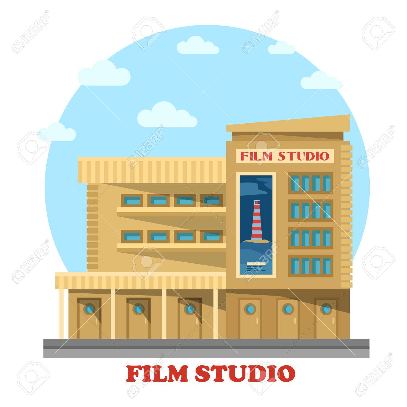 Film Or Movie Studio Building Facade Architecture Of Construction