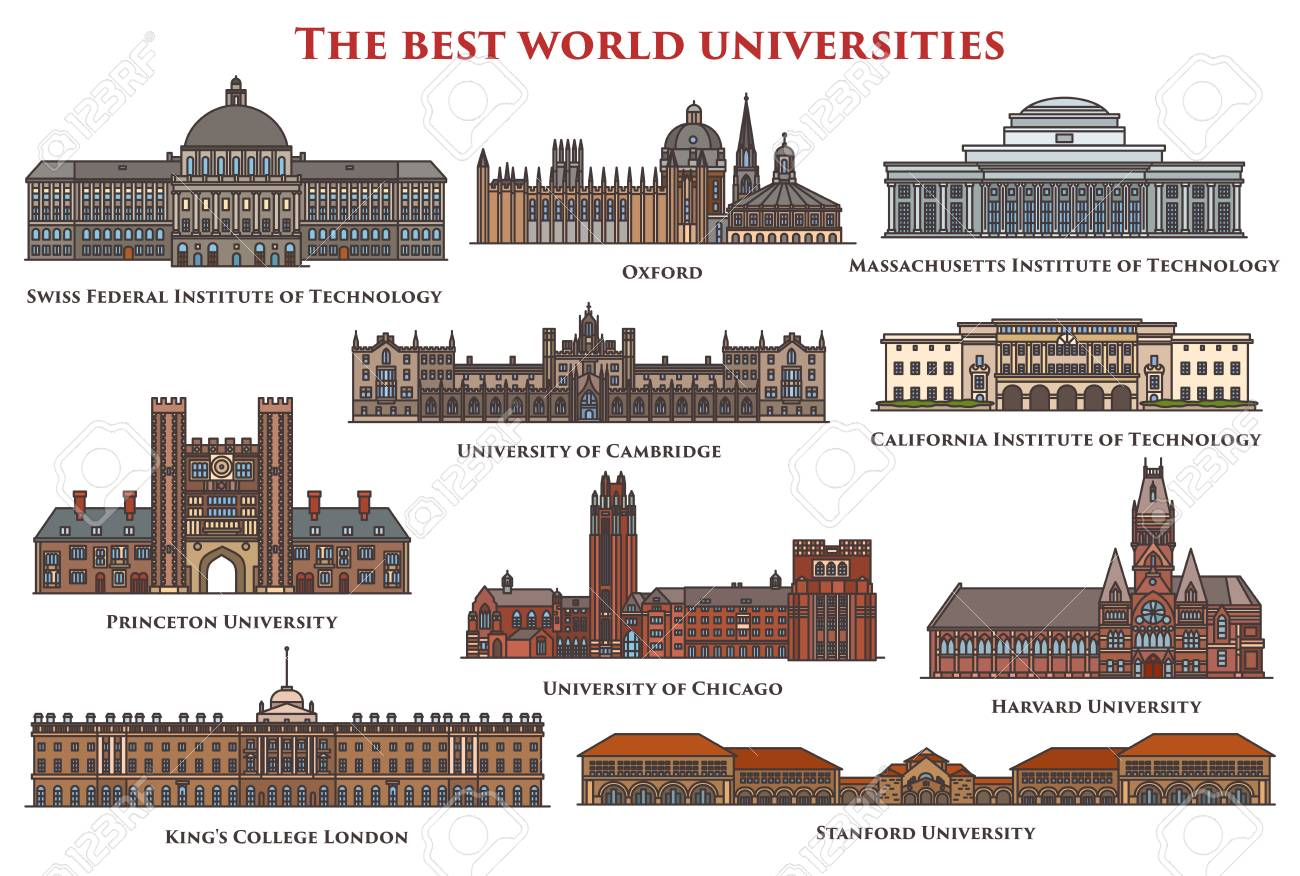 Set of isolated buildings and university. - 92069761