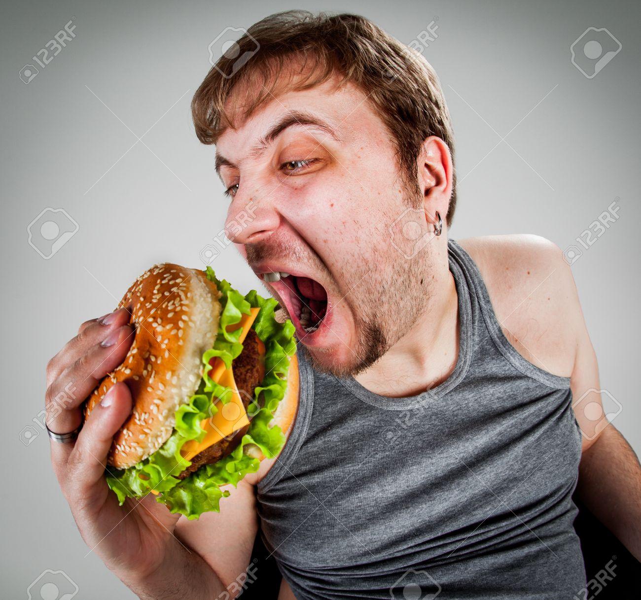 Resultado de imagen para gordo comiendo