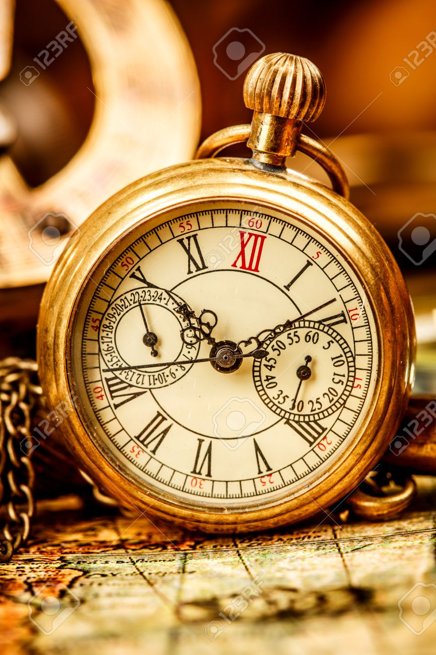 Antique pocket watch  Vintage Antique Pocket Watch. Stock Photo, Picture And Royalty ...