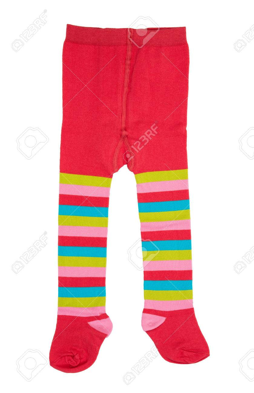 thoughts on many styles sneakers Infant Collants enfants Laine Vêtements isolé sur fond blanc.