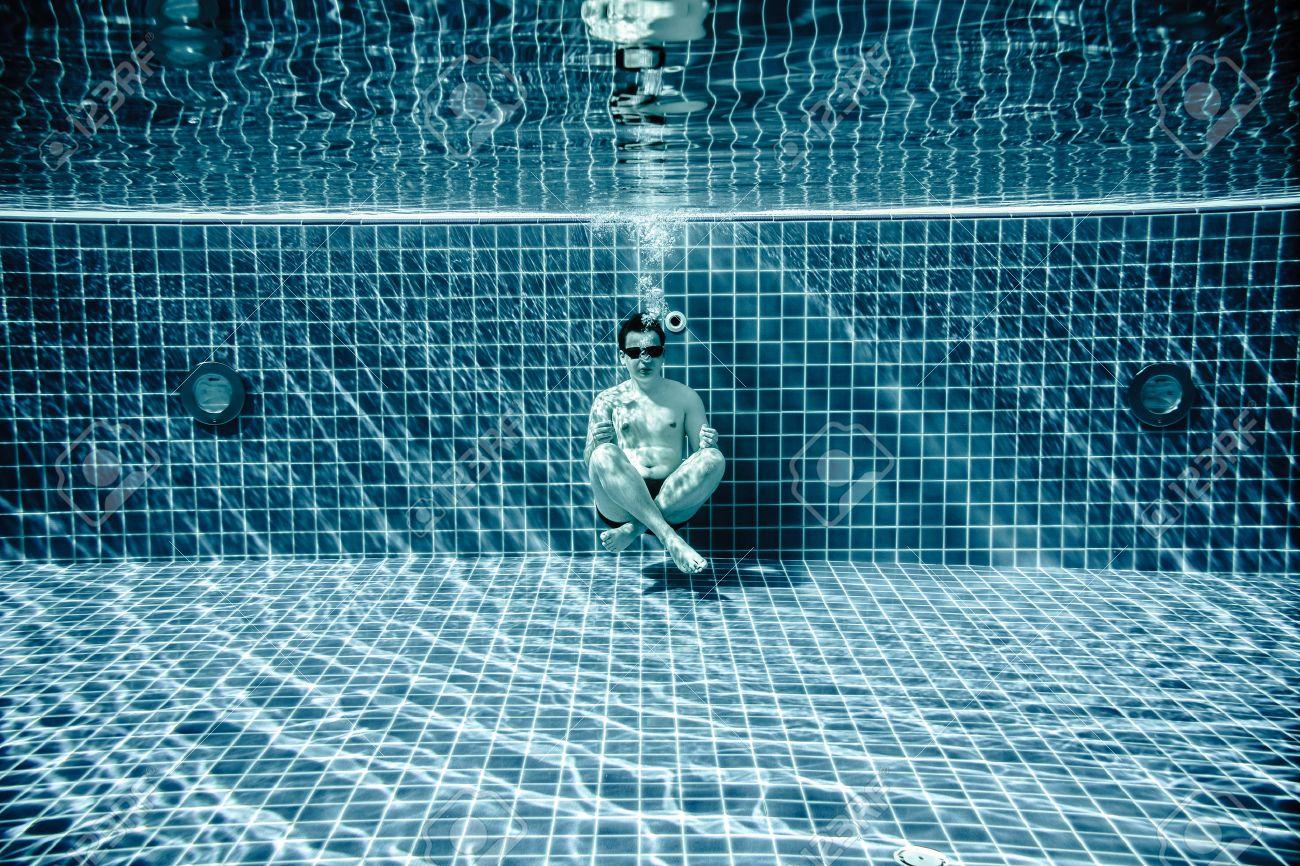 Bottom of the pool