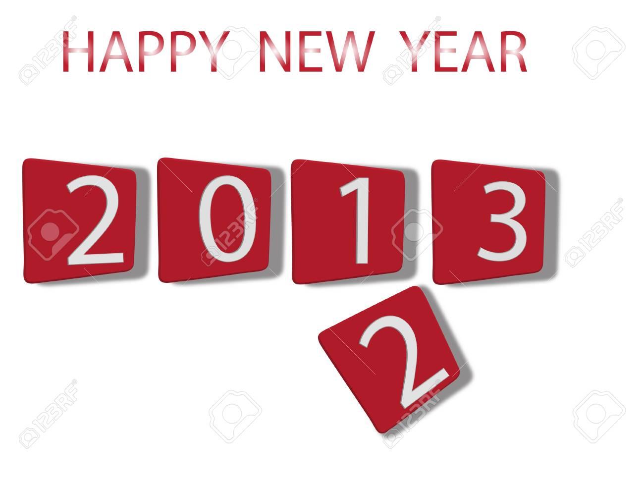 New Year 2013 Stock Vector - 18550890