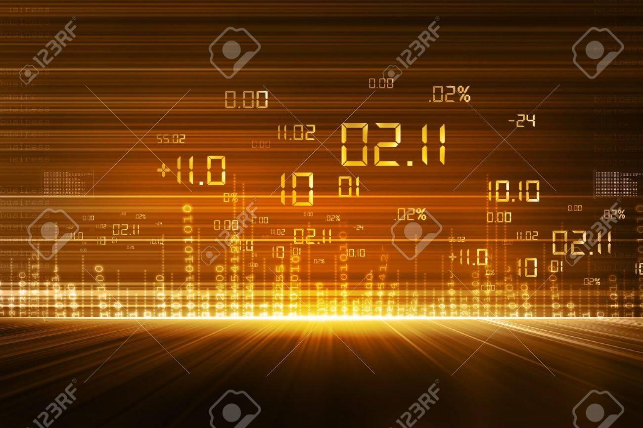 stock market chart - 15187831