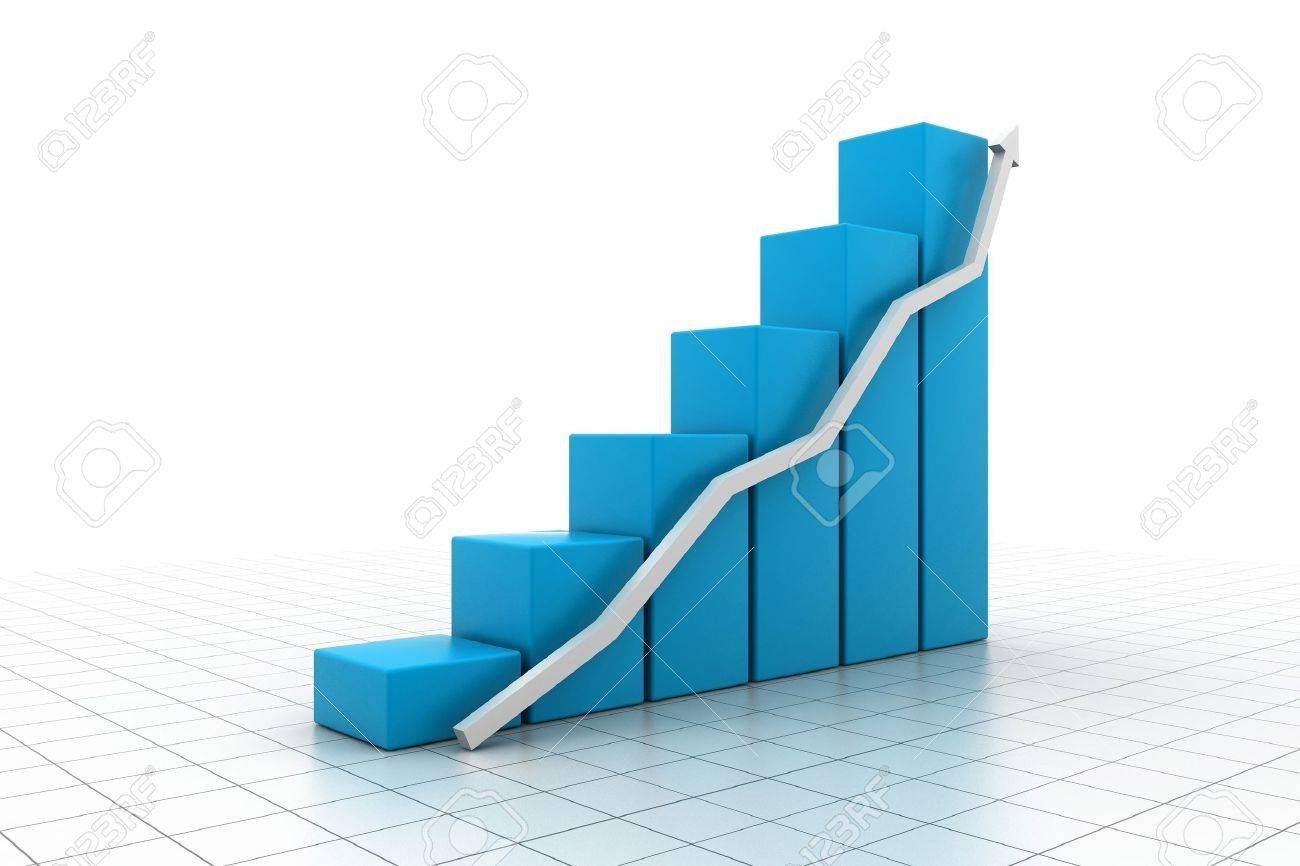 Business graph Stock Photo - 15348696
