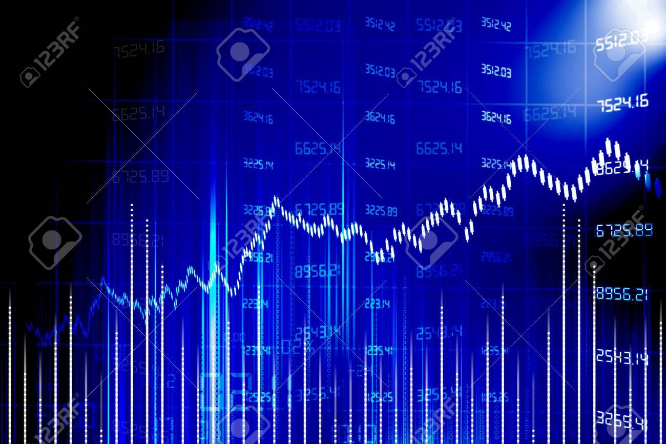 stock market chart Stock Photo - 15357954