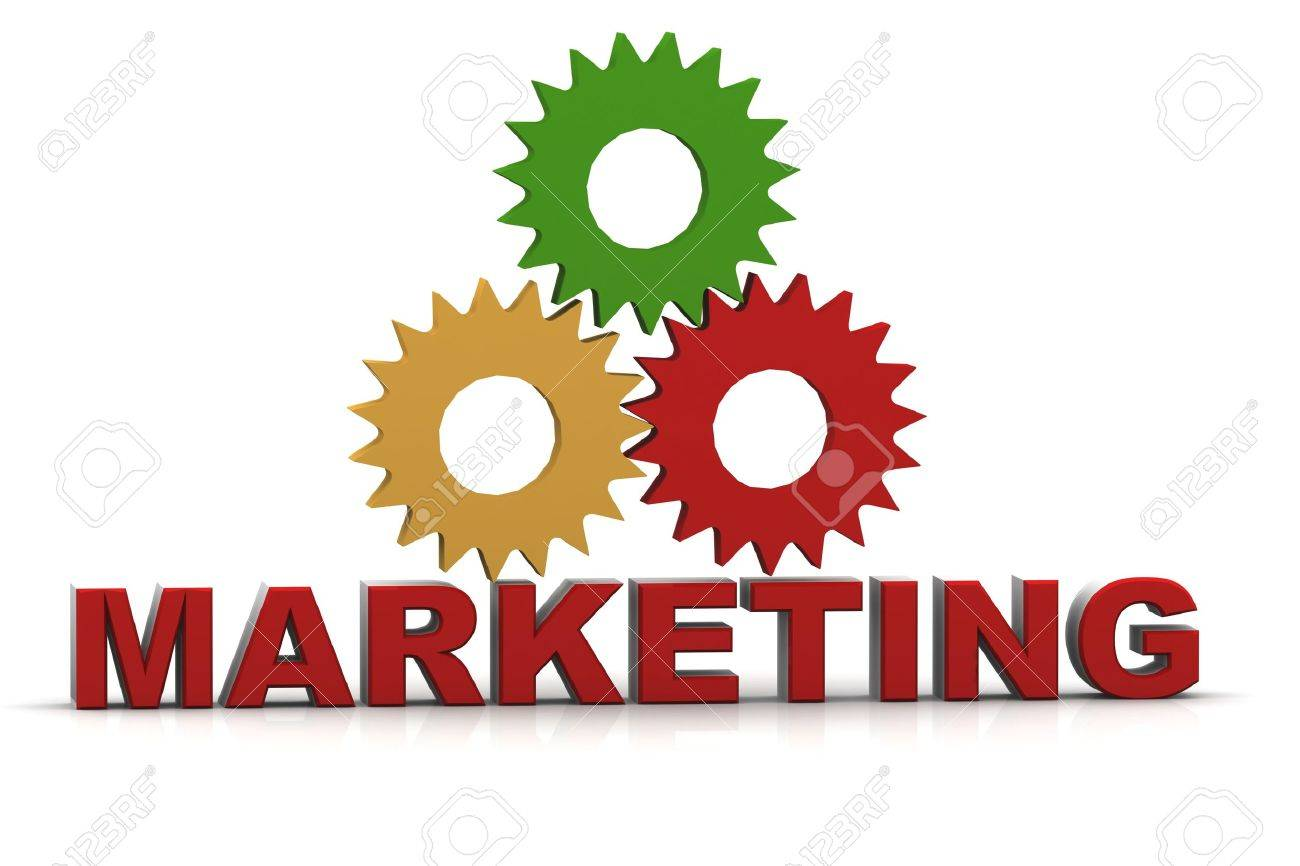 3d marketing text Stock Photo - 15709133