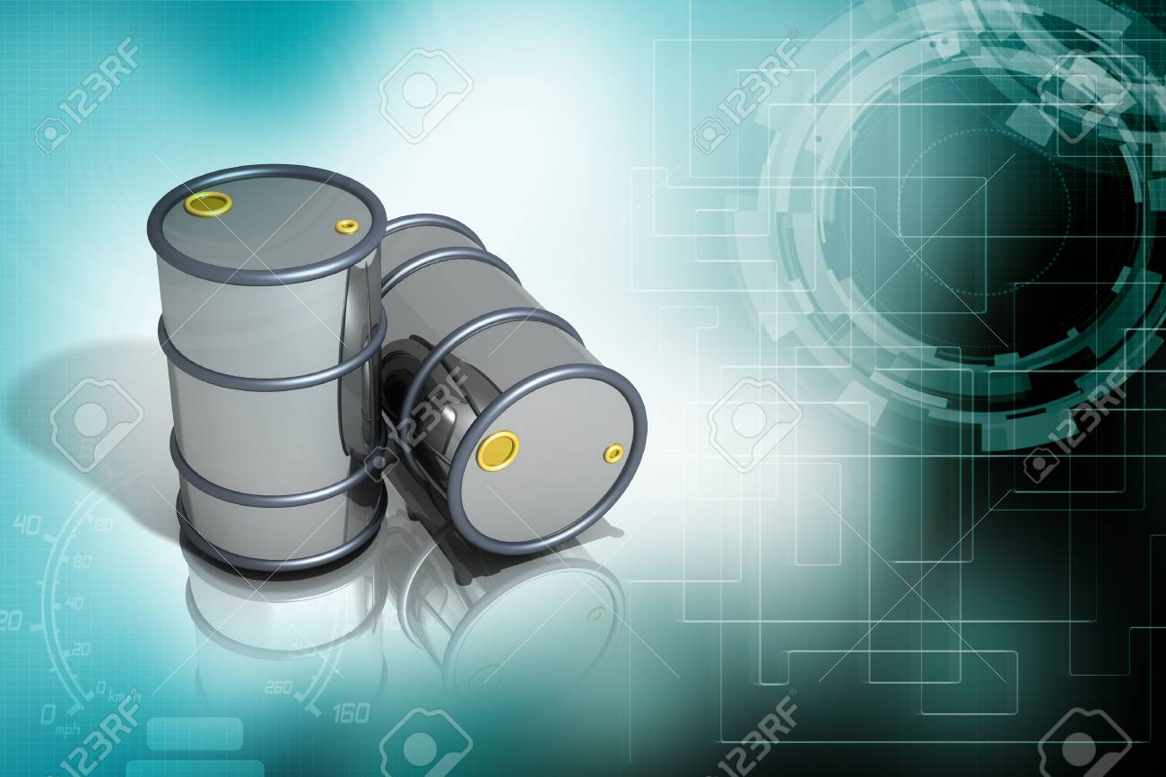oil barrels Stock Photo - 16561487