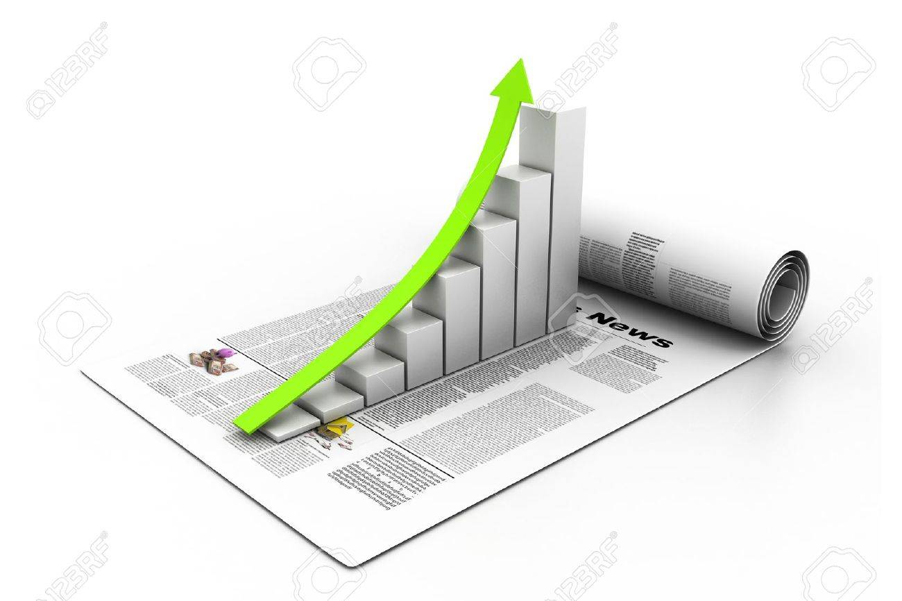 Business graph Stock Photo - 17033986