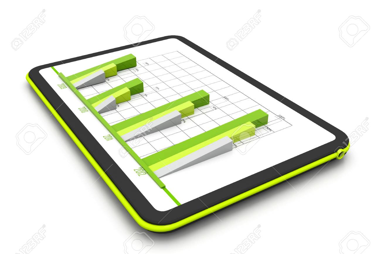 Business graph Stock Photo - 17033809