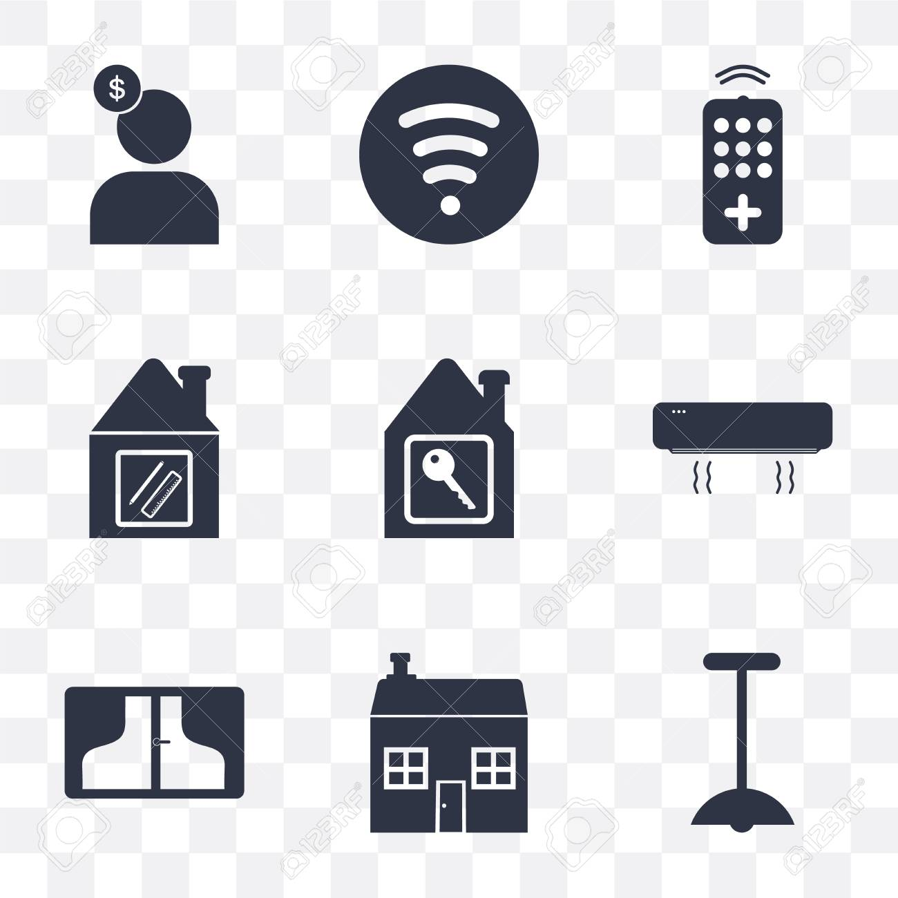 Set Of 9 Simple Transparency Icons Such As Lighting, House, Window Print House Key Designs on caribbean house designs, button designs, lantern designs, bunkie designs, keys with designs, poetry designs, house extension designs, house keys fun, diary designs, money designs, stilt home designs, phone designs, florida beach house designs, house entry designs, house warehouse, cool computer designs, house number designs, housekeeping designs, house of k fashion logo, black and white abstract designs,