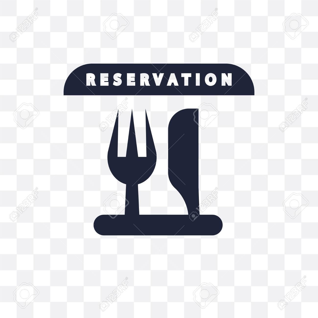 Reservation Transparent Icon Reservation Symbol Design From