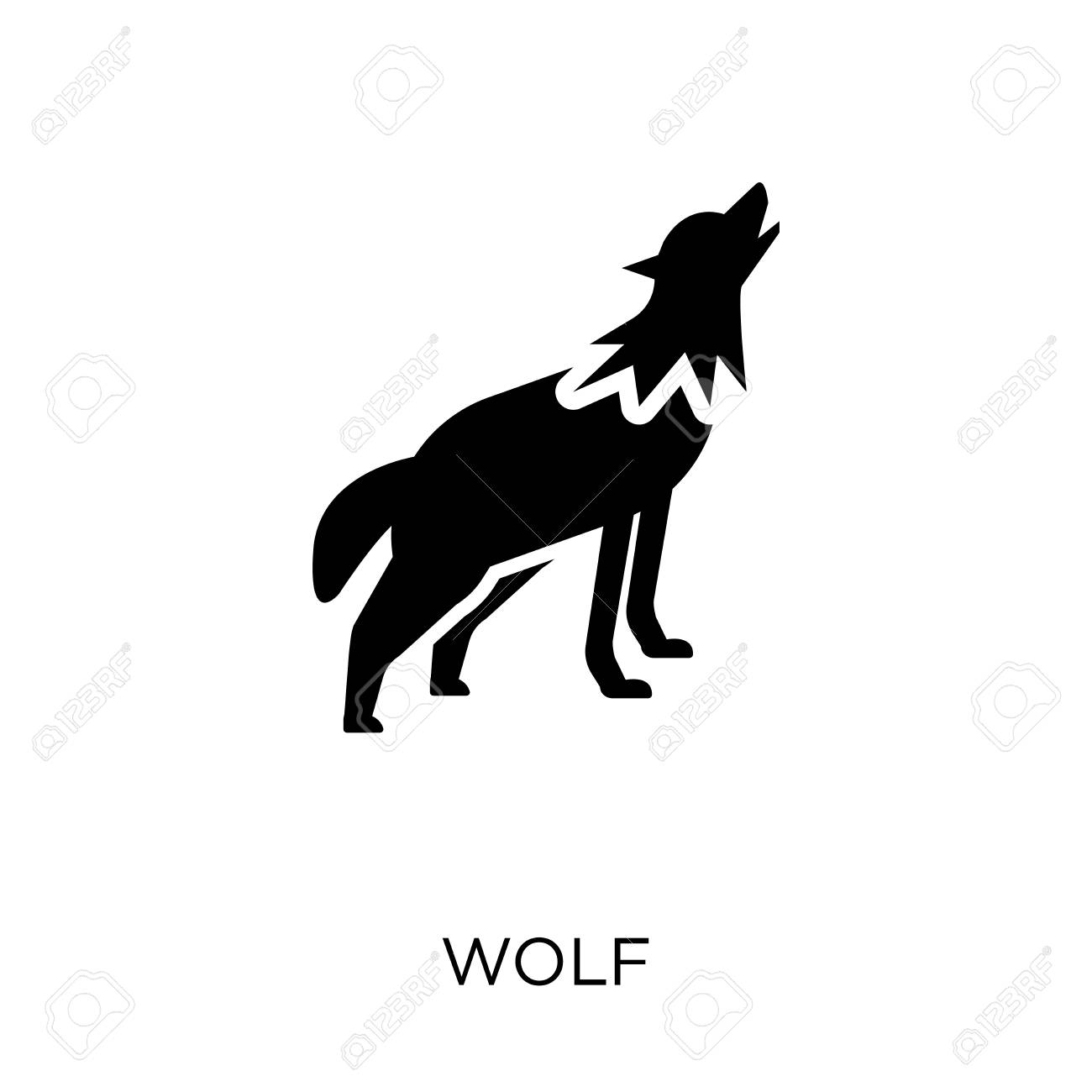 Wolf Icon Wolf Symbol Design From Animals Collection Simple Royalty Free Cliparts Vectors And Stock Illustration Image 111627278 600+ vectors, stock photos & psd files. wolf icon wolf symbol design from animals collection simple