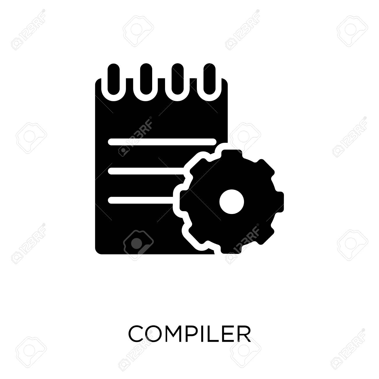 Compiler icon  Compiler symbol design from Programming collection