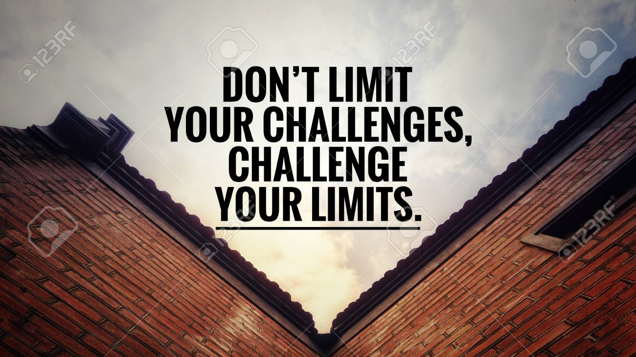 Motivational And Inspirational Quotes   Don't Limit Your ...