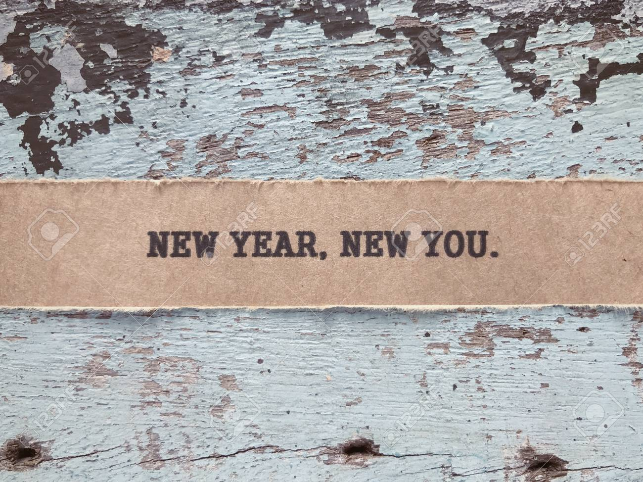 motivational and inspirational quote new year new you written