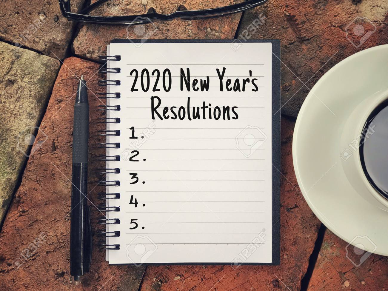 New Years Resolutions 2020.New Year Resolutions Concept 2020 New Year S Resolutions