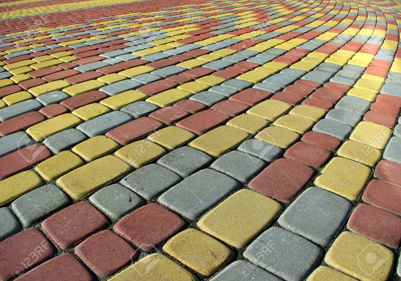 Image colored pavement as background Stock Photo - 20583296