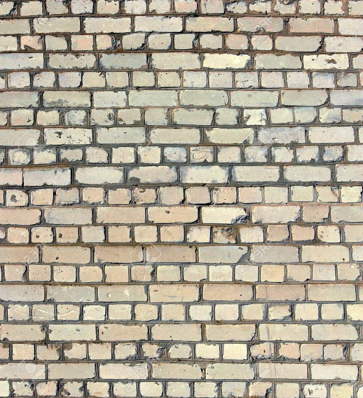fragment of a white brick wall as background Stock Photo - 20583378