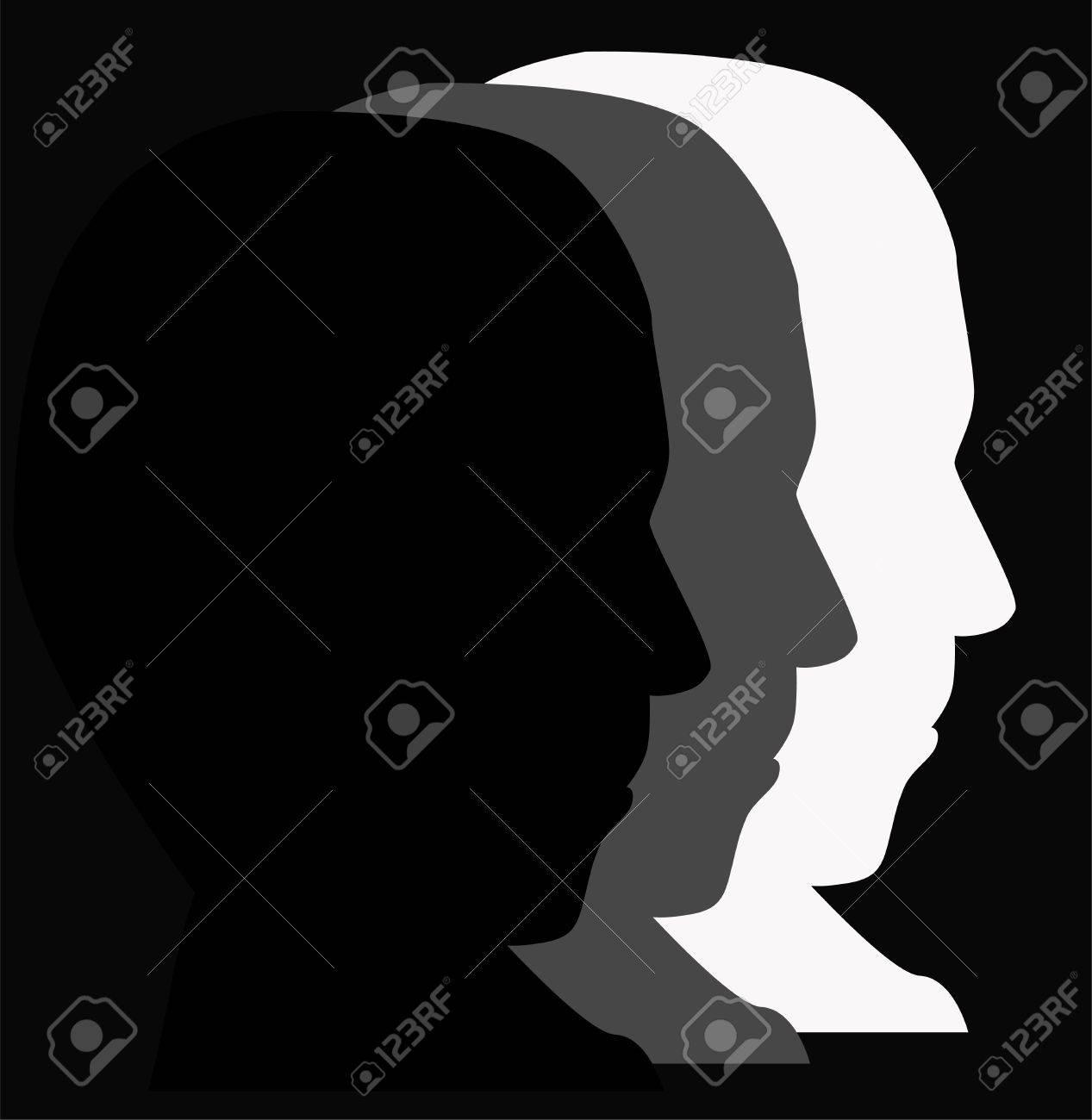 face man Stock Vector - 9651637