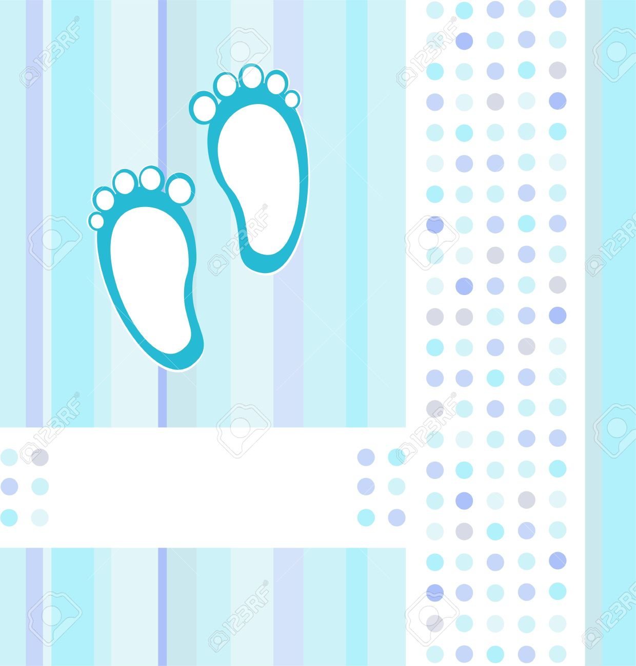 Baby boy background wallpaper baby boy background images baby boy - Baby Boy Announcement Blue Card Background Wallpaper Vector Illustration Stock Vector 10570844