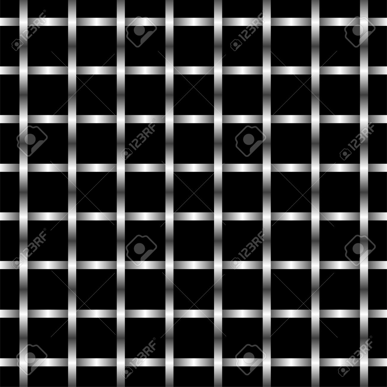 Metal Grid Wall abstract illustration of metal grid wall pattern. royalty free