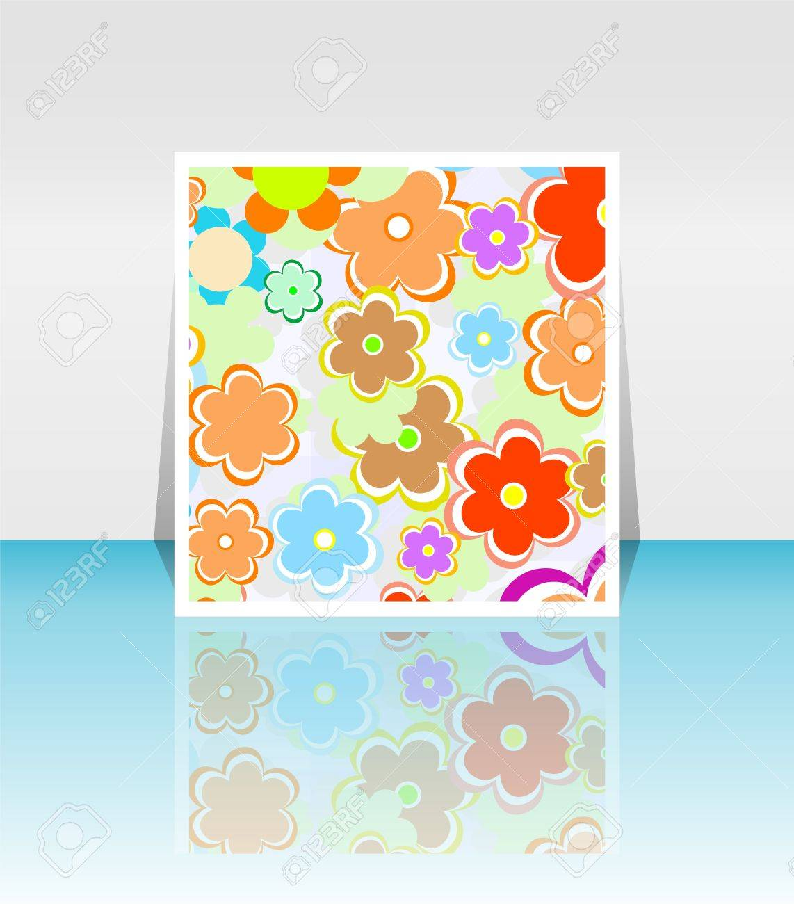 Design Background Of Spring Flowers Brochure Birthday Easter – Easter Brochure Template