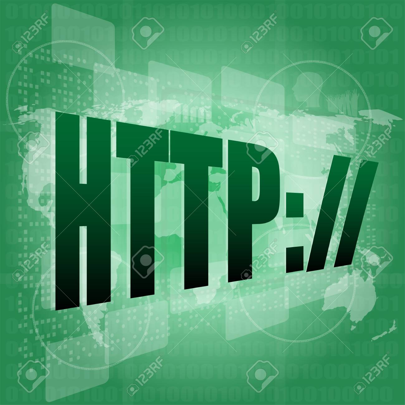 Concept of internet web search engine on touch screen Stock Photo - 17432495
