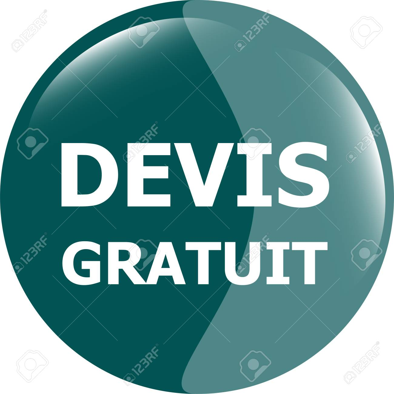 123Rf Gratuit devis gratuit, free quote glossy green button stock photo, picture
