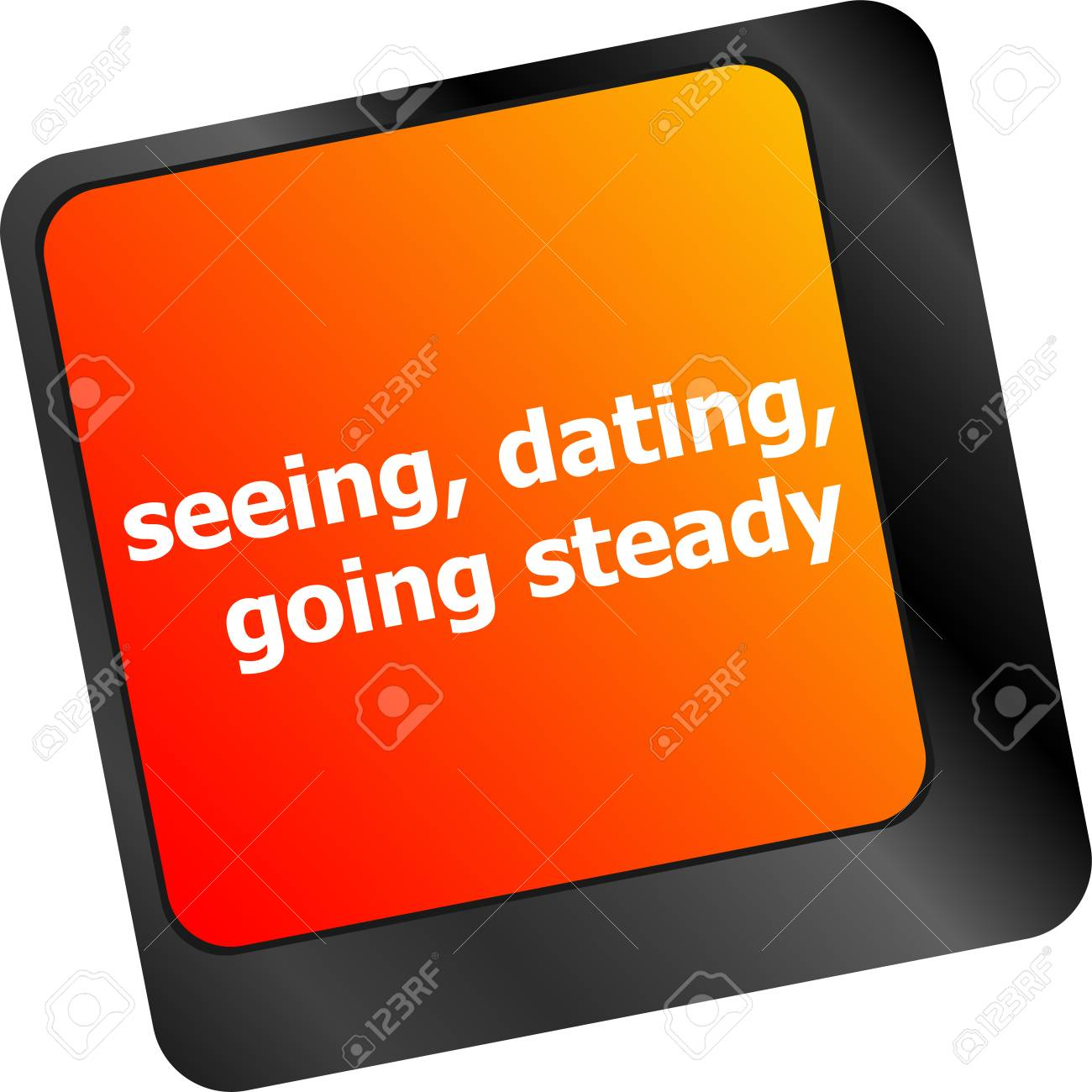Dating going steady